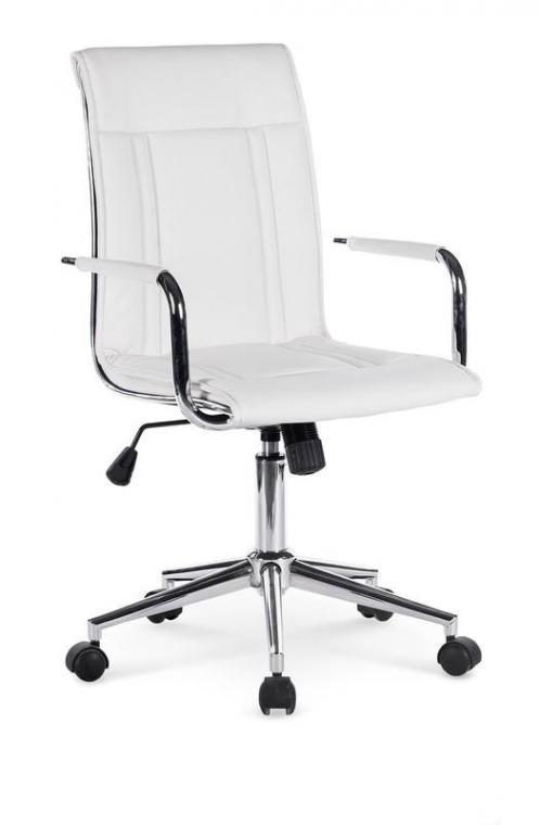 PORTO 2 moderná kancelárska stolička, biela