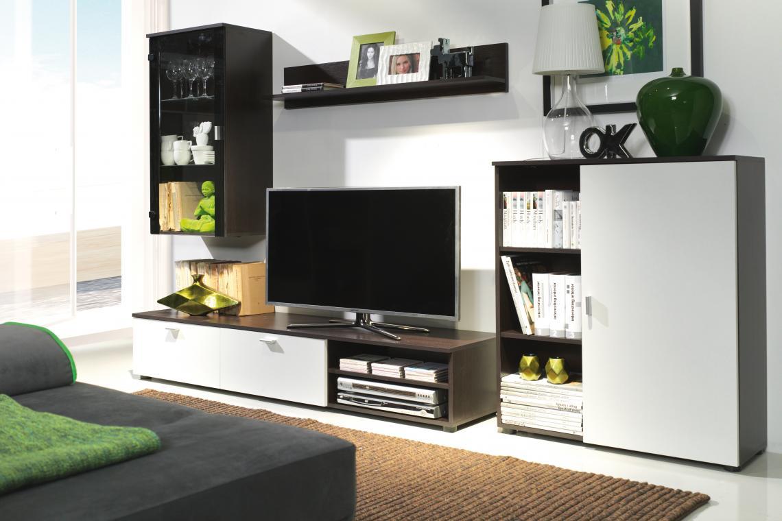 DINO obývací stěna, milano/bílý