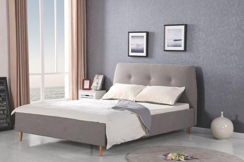 DORIS čalúnená manželská posteľ s roštom 160x200 cm