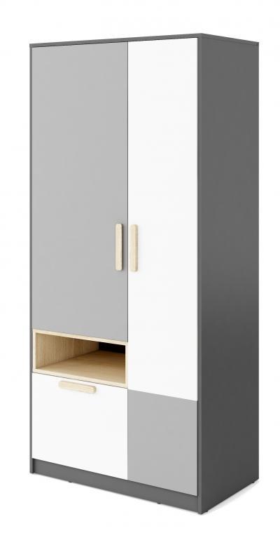 POK PO-2 šatní skříň do dětského pokoje