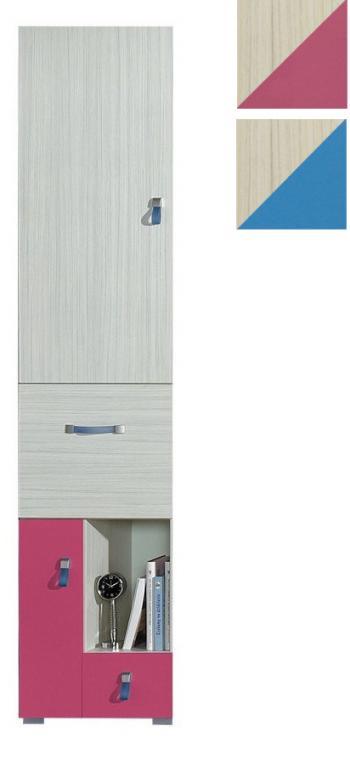 DOMI DO3 úzká šatní skříň do dětského pokoje | VYPRODÁNO