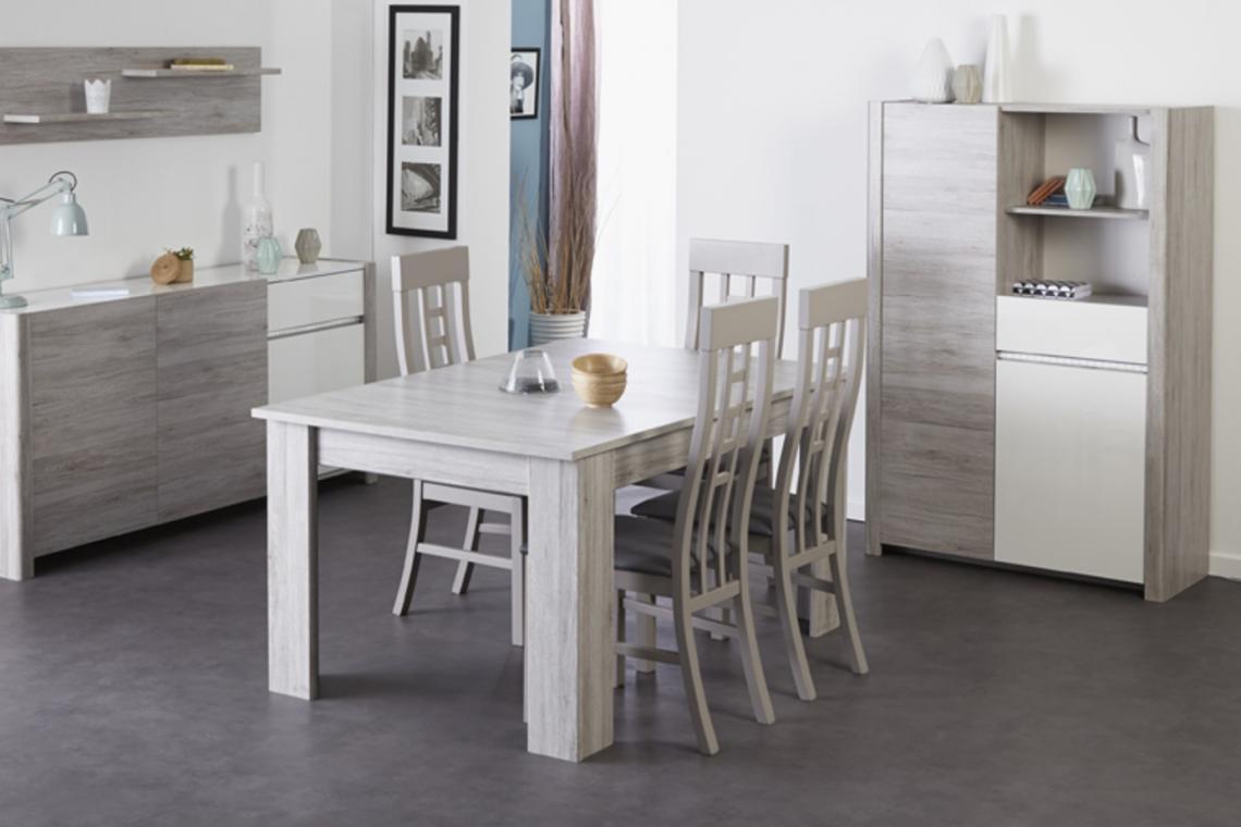 S6/1 rozkládací jídelní stůl   12 dekorů na výběr