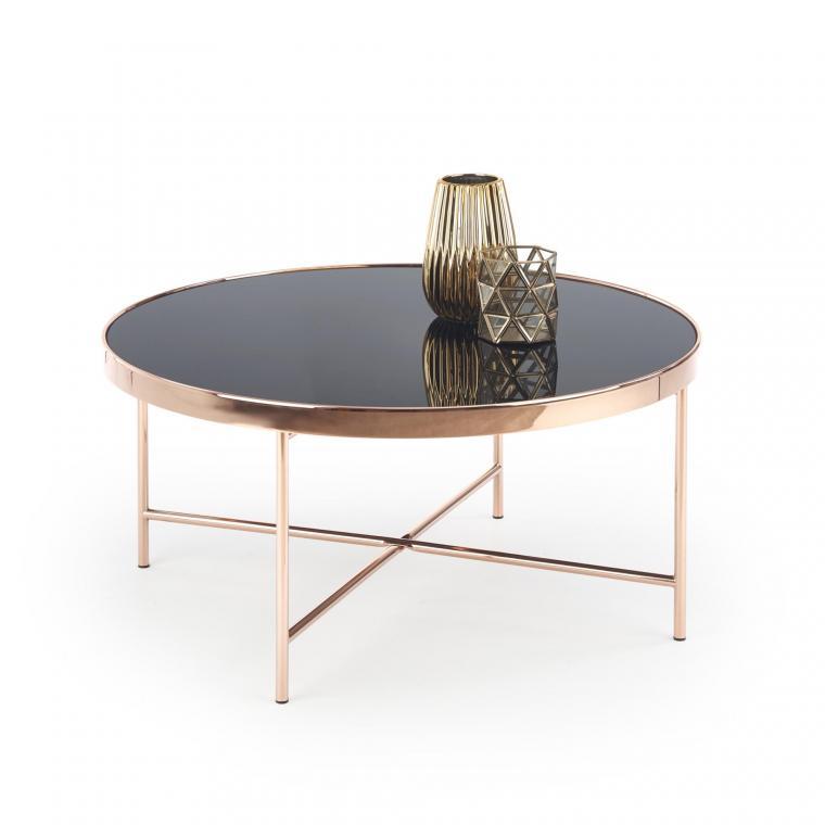MORIA kulatý konferenční stolek v industriálním stylu