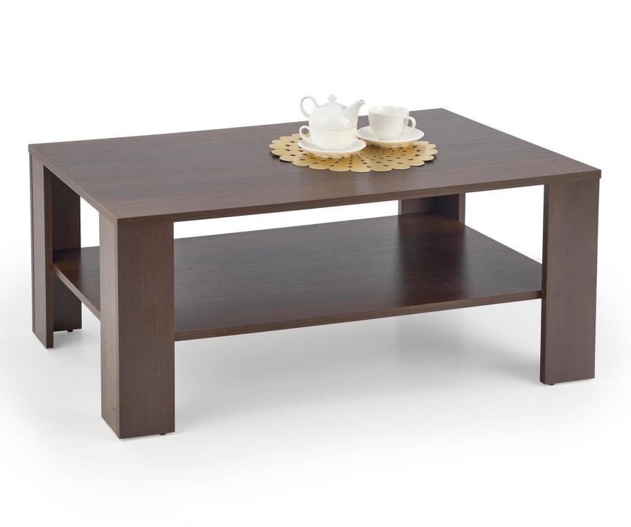 KVADRO obdélníkový konferenční stolek se dvěma patry