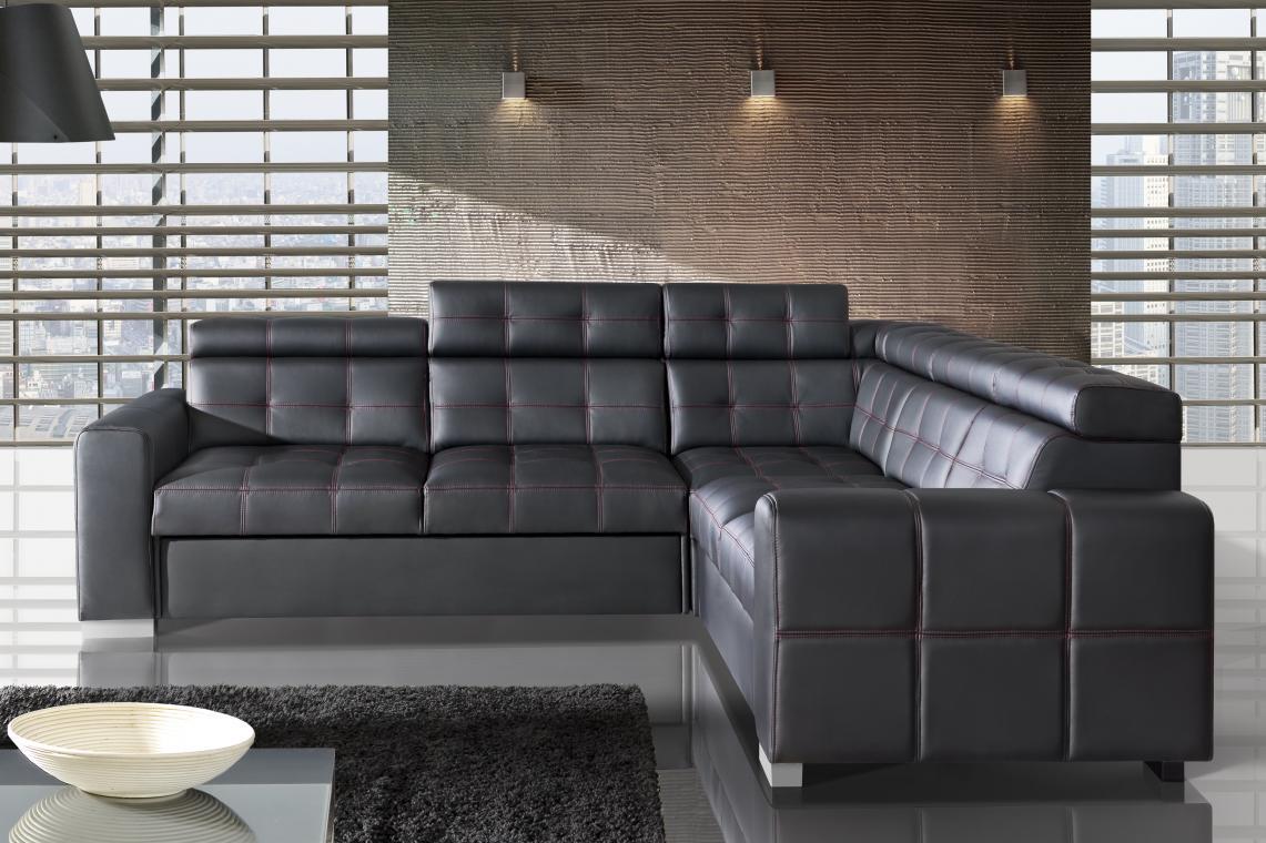 ELIZABET 2 moderná systémová sedacia súprava s voliteľnými funkciami, možnosť pravej kože
