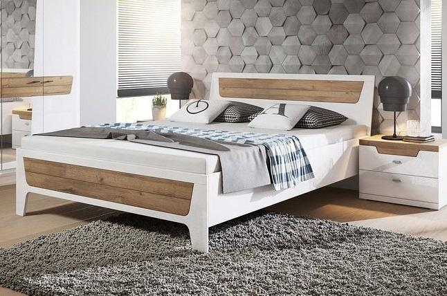 841b3efff3f6 MONROE moderní manželská postel
