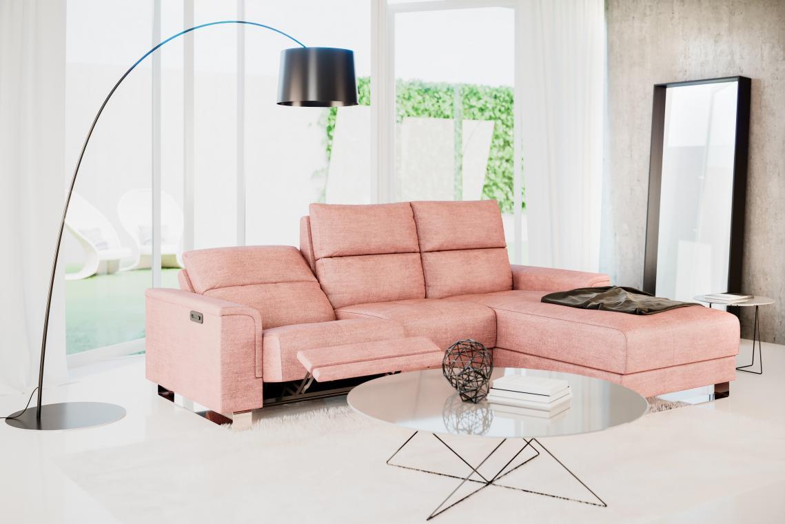 ALMERA relaxační sedací souprava s elektrickým výsuvem