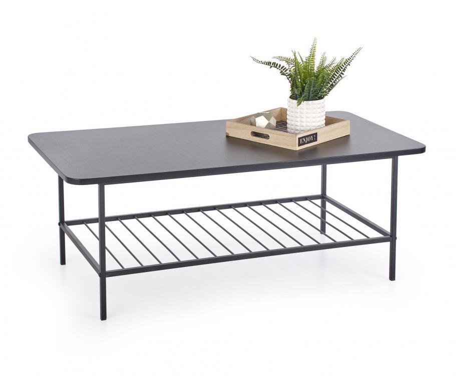 ATLANTA konferenční stolek s ocelovou konstrukcí