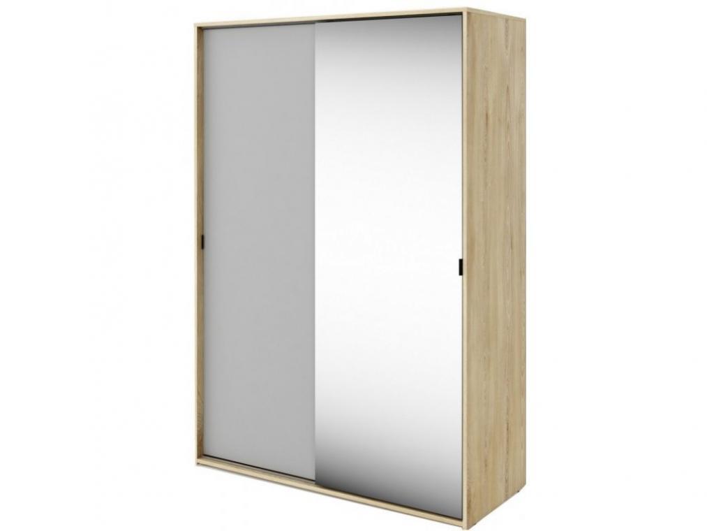 MEET ME MT-02 dětská šatní skříň se zrcadlem a posuvnými dveřmi