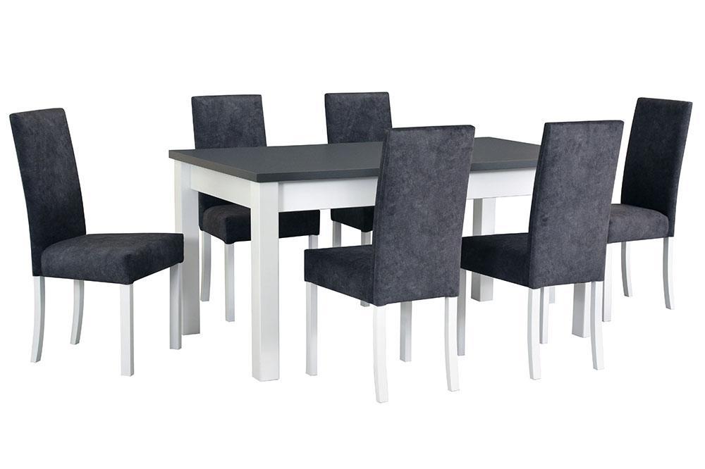 MORO jedálenská zostava   1x stôl + 6x stoličky