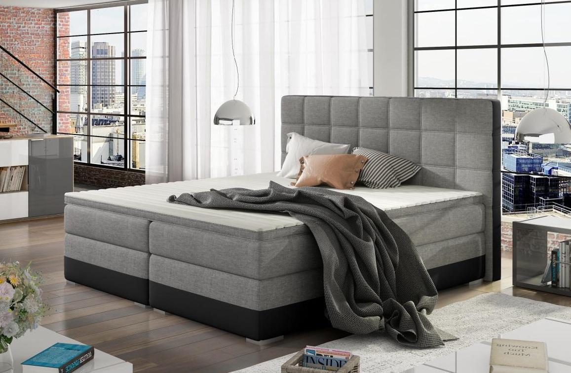 DANTE 180x200 boxspring postel s úložným prostorem
