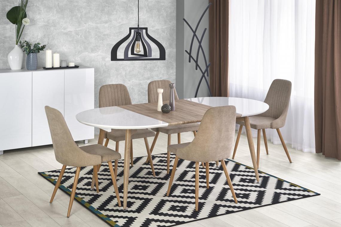 EDGAR moderní rozkládací jídelní stůl, san remo