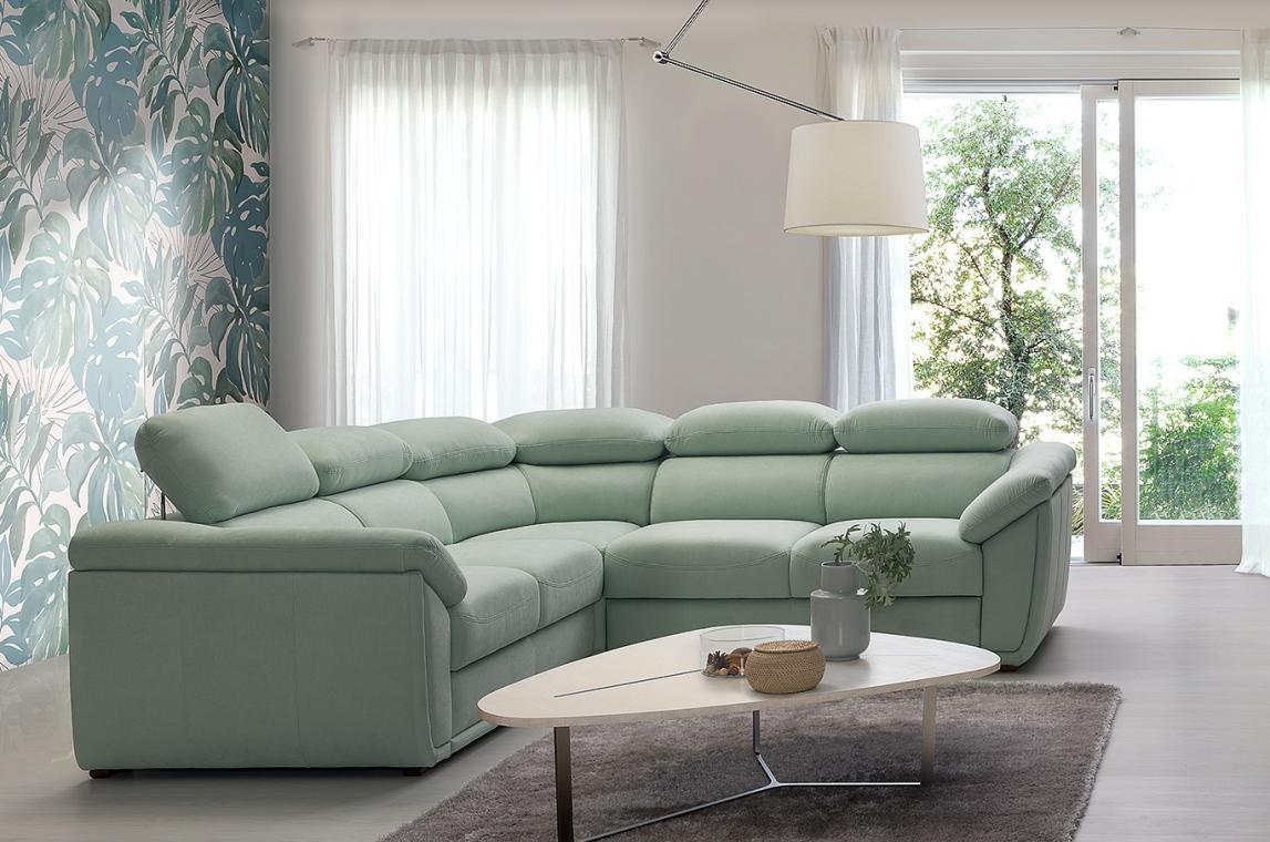 KLEOPATRA 3 luxusná sedačka, možnosť objednania v pravej koži