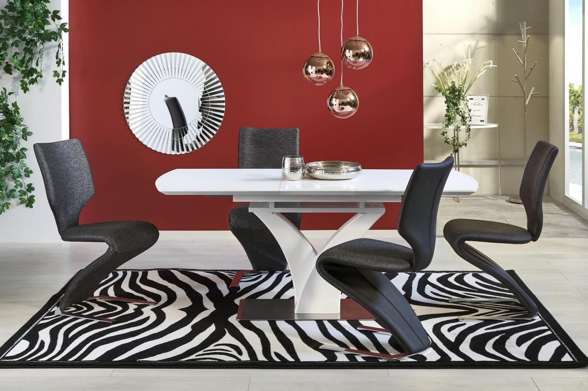 PALERMO jedálenská zostava   rozkladací jedálenský stôl + 4x stoličky