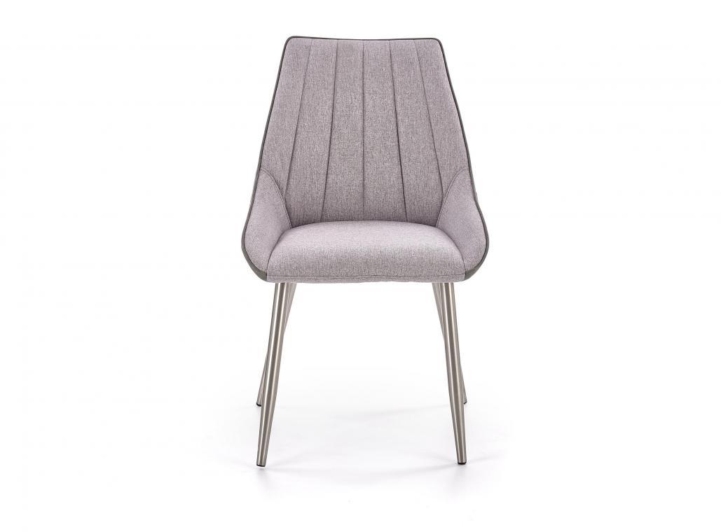 K-311 čalúnená jedálenská stolička, sivá