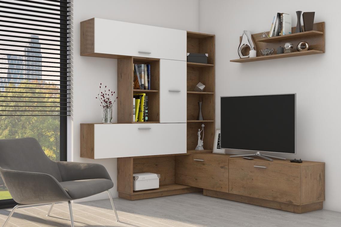 FLEXI variabilní obývací stěna