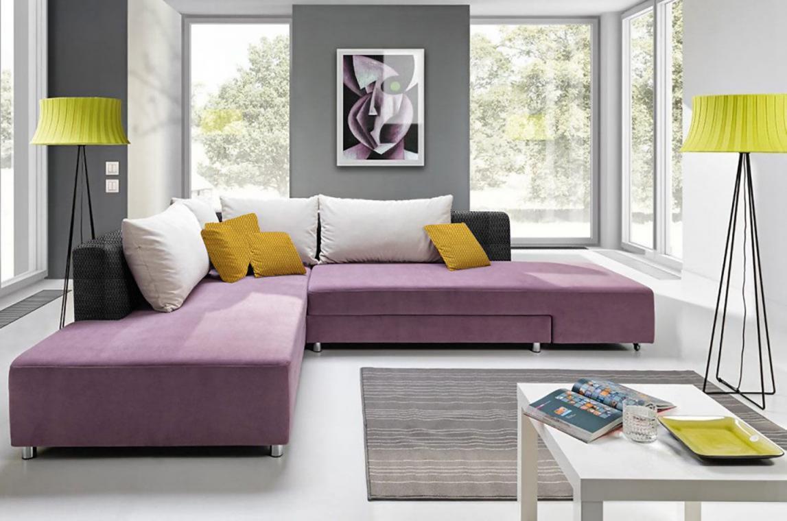 SPLIT designová sedací souprava pro každodenní spaní