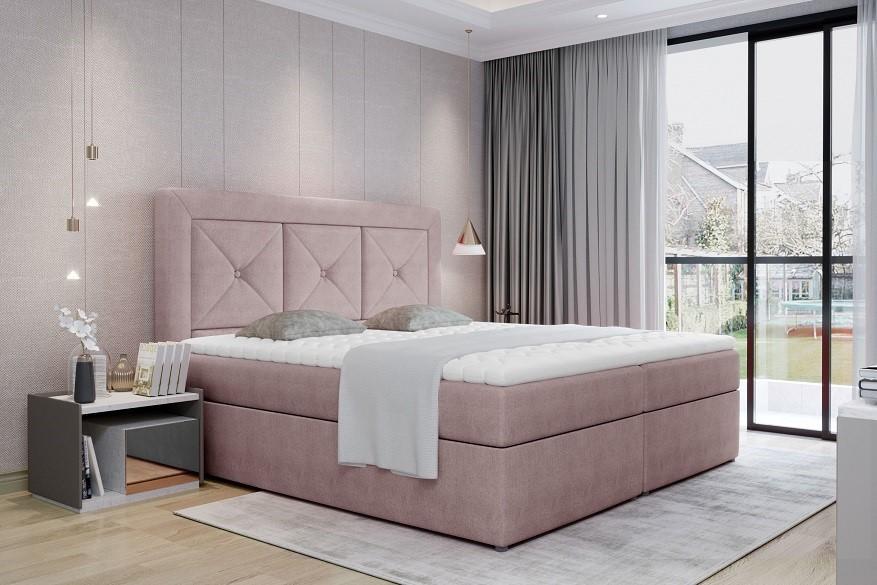 IZABELA 140x200 boxspring posteľ