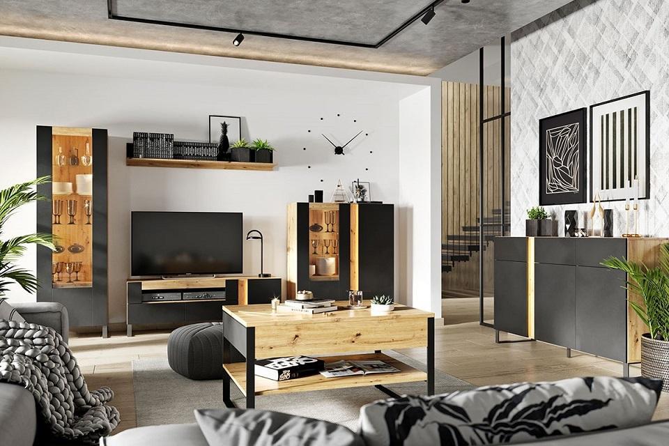 MONO elegantní sestava do obývacího pokoje