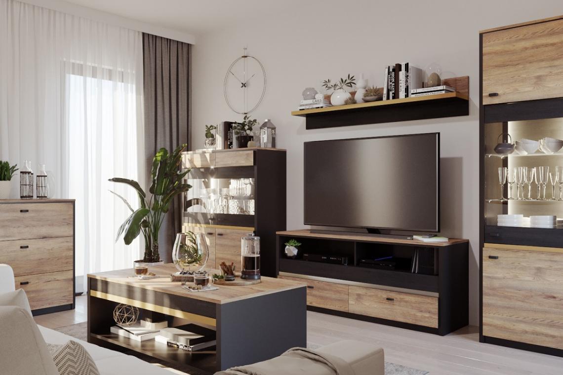 BELIZE elegantní sestava do obývacího pokoje
