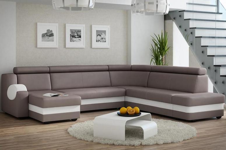 ATOS U moderná rozkladacia sedačka v tvare U s polohovacími opierkami | VYPREDANÉ