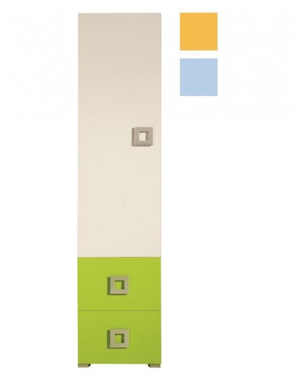NEXT NE3 úzka šatníková skriňa do detskej izby