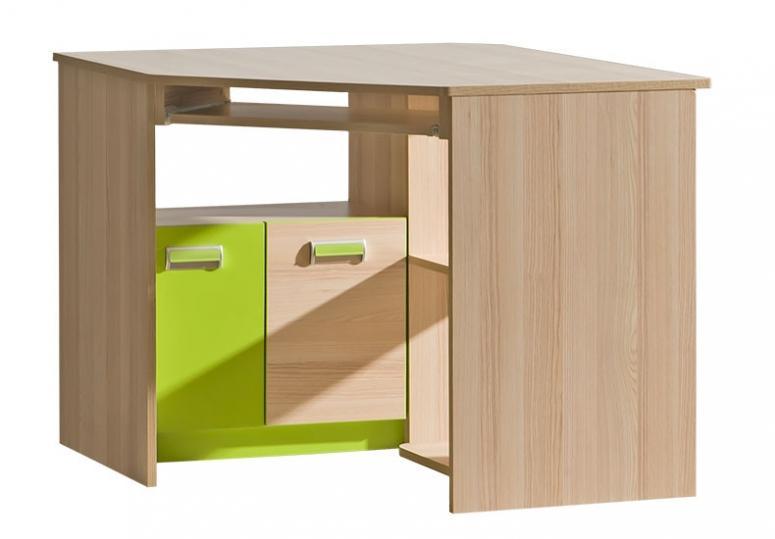 LORENTO L11 rohový PC stůl do dětského pokoje