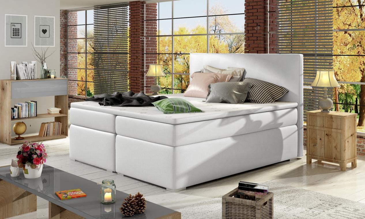 DIVALO 200x200 boxspring postel s úložným prostorem