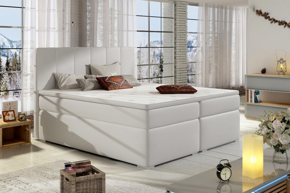 BOLERO 180x200 boxspring posteľ s úložným priestorom