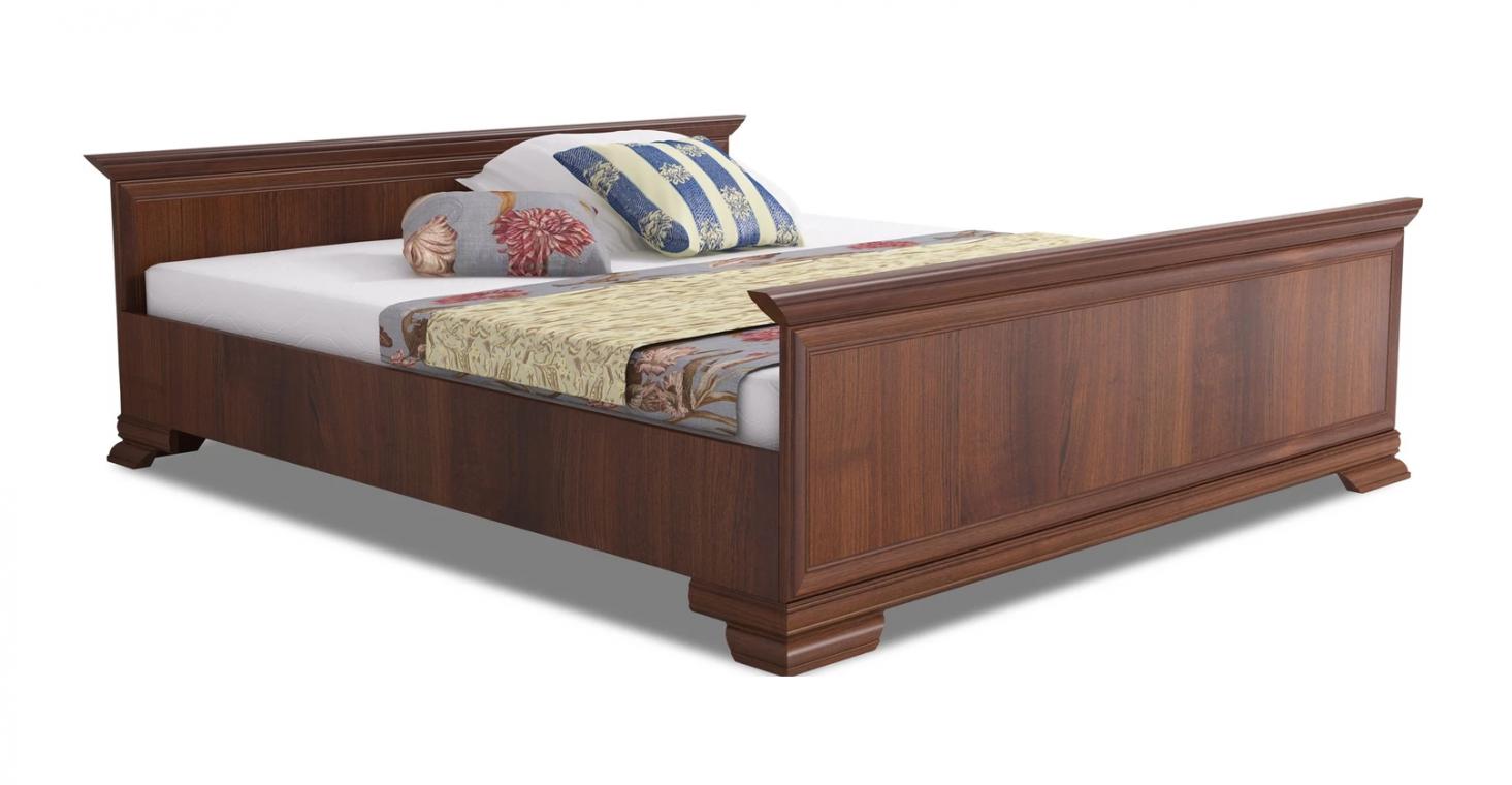 KORA KLS manželská postel 160x200  v rustikálním stylu