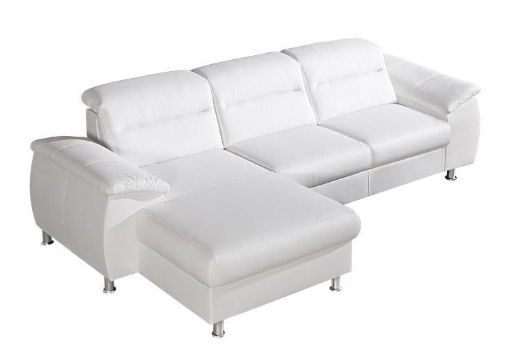 PERLA 2 rozkladacia rohová sedačka s polohovacími opierkami, možnosť pravej kože