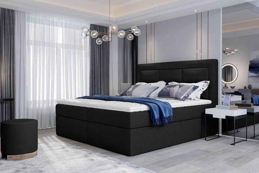 ELENA 160x200 boxspring posteľ