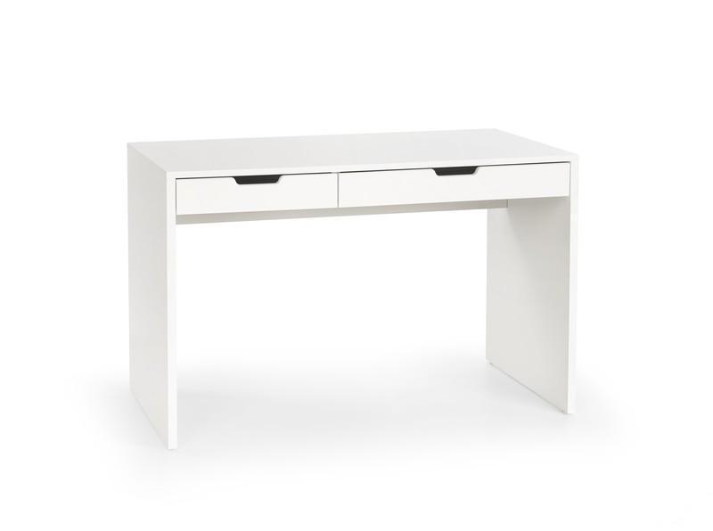 d53ec5bee2e4 Biely písací stôl do študentskej izby Enjoy