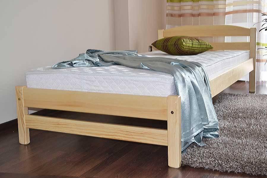 ADRIANA drevená posteľ z masívneho dreva | 4 rozmery