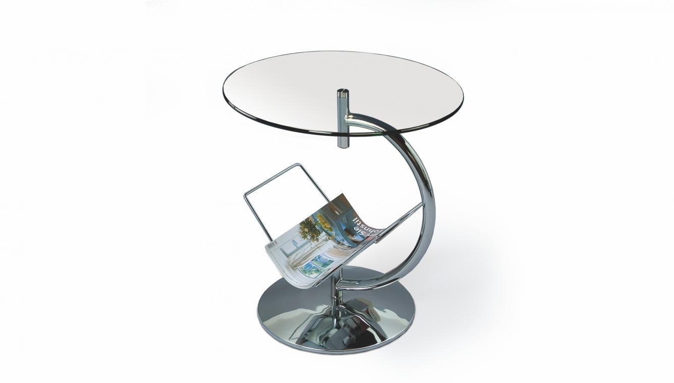 ALMA kulatý kovový konferenční stolek