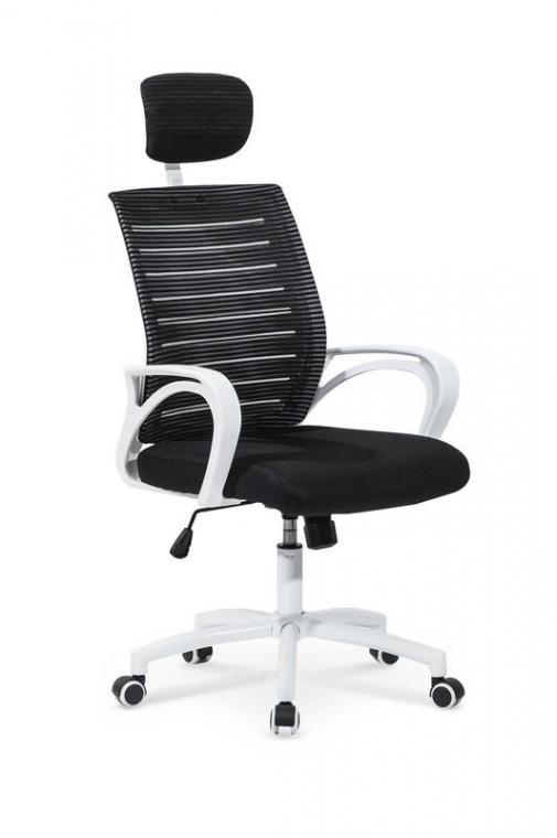 SOCKET kancelářská židle, černobílá