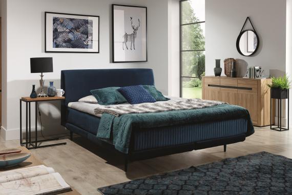 FLORENCE 160x200 čalouněná postel