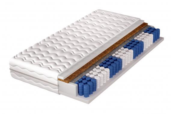 NEVADA 7-zónová dvoustranná taštičková matrace 120x200 cm | DOPRODEJ