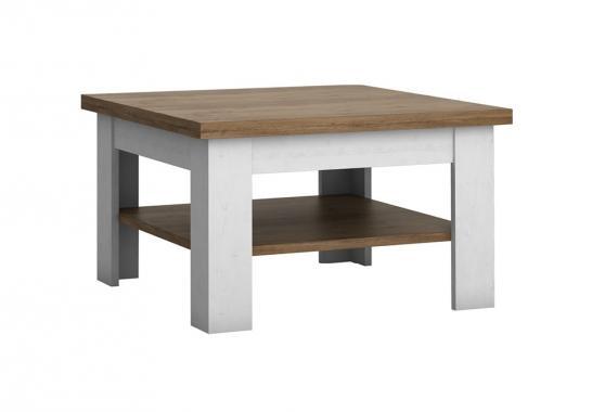 FRANCE čtvercový konferenční stolek ve venkovském stylu
