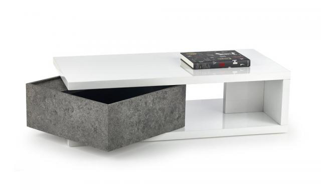 IMPALA moderní konferenční stolek s úložným prostorem