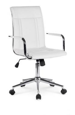 PORTO 2 moderní kancelářská židle, bílá