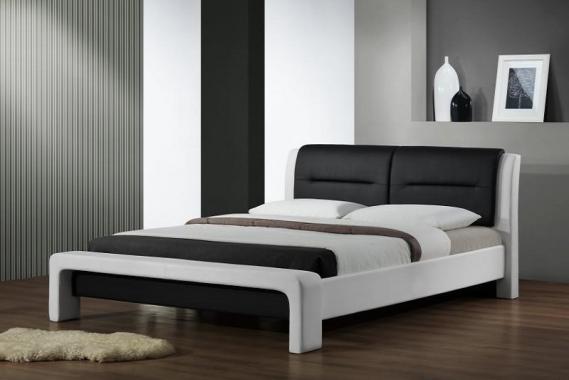 CASSANDRA čalúnená posteľ s roštom | 2 rozmery