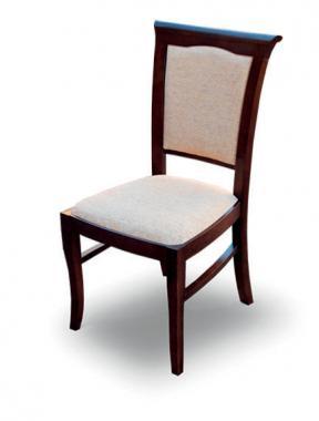 K14 čalouněná jídelní židle z masivního dřeva