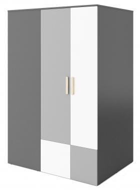 POK PO-0 šatník so zrkadlom a zabudovaným LED osvetlením