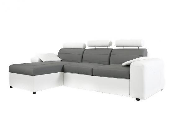 ANGELO L moderná rohová sedačka s rozkladacou funkciou a úložným priestorom