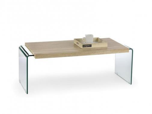 MIURA skleněný konferenční stolek s deskou | VÝPRODEJ