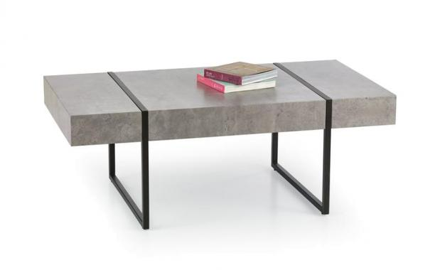 TIFFANY konferenční stolek v industriálním stylu