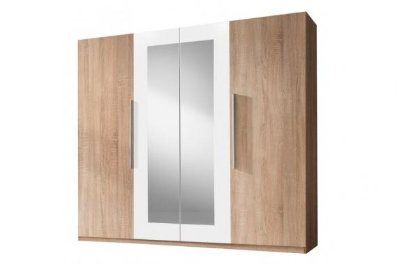 JASMINE moderní šatní skříň se zrcadlem | 6 dekorů