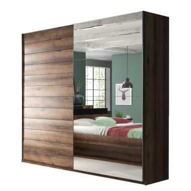 ZUZANA 2 zrkadlová šatníková skriňa s posuvnými dverami | viac rozmerov
