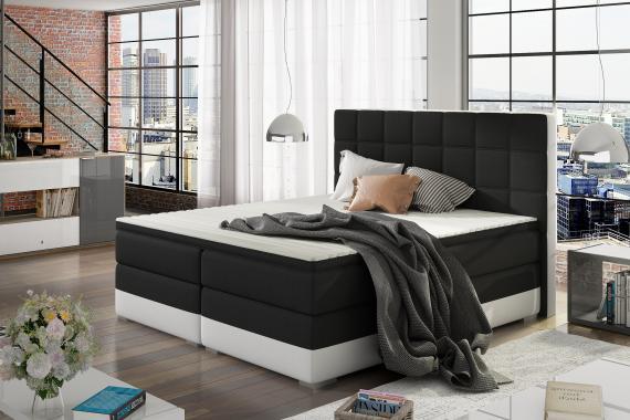 DANTE boxspring postel s úložným prostorem | 3 rozměry